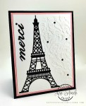 Parisian Thank You Card