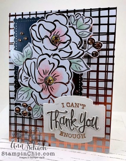 quick easy thank you card