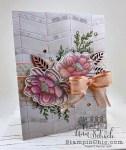 floral feminine birthday card