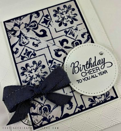 clean simple birthday card