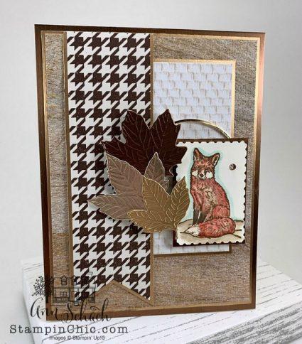 foxy fall card