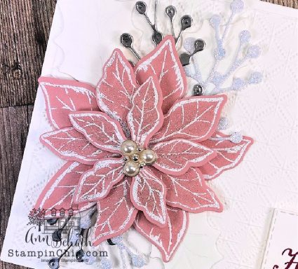 poinsettiia holiday card