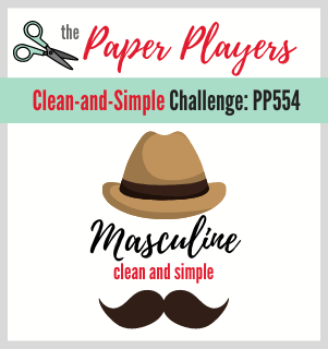 clean and simple masculine cards