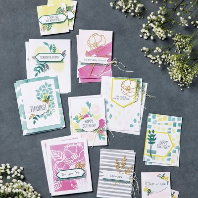 Soft Sayings Card Kit from Stampin Up!