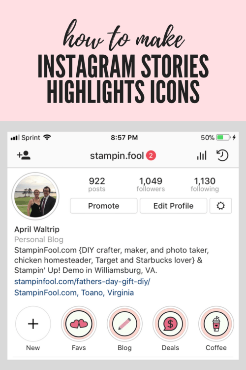Instagram Stories_ Making Highlight Icons Checklist
