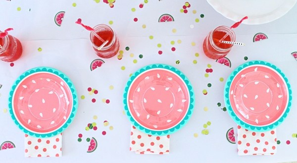 How to Throw a Watermelon Party from StampinFool.com