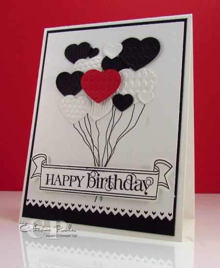 Project poc birthday card stamping poc pop of color i keep hearing this term pop up a lot especially in fashion and now in stamping making a black and white card and adding a bold dash bookmarktalkfo Images