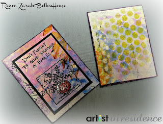 Tip: stamping with recycled material