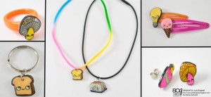 Project: Shrink Plastic Jewelry