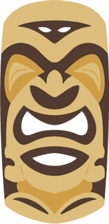 Freebie: Tiki Die Cut