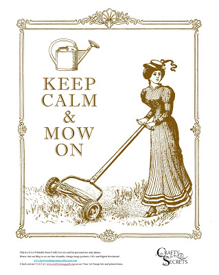 Freebie: Victorian Mower