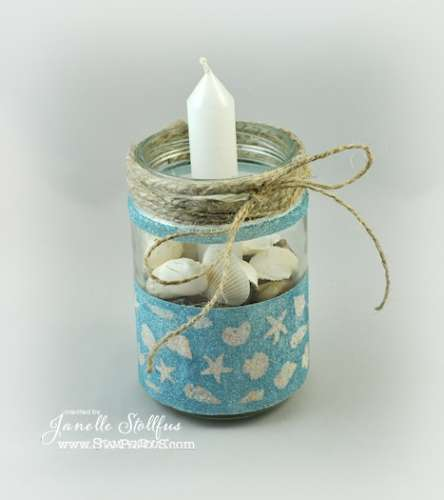 Project: Seashell Candle Holder