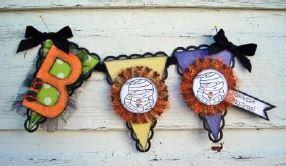 Project: Halloween Paper Pennants