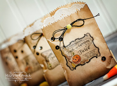 Project: Printed HalloweenTreat Bags