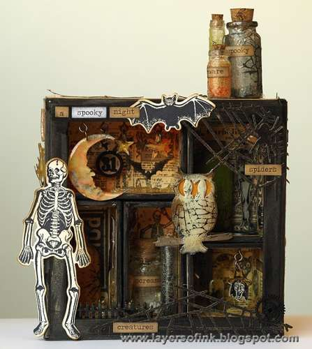 Inspiration: Halloween Shadow Box