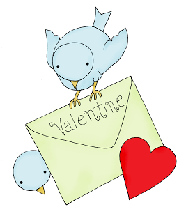 Freebie: Valentine Digital Stamp