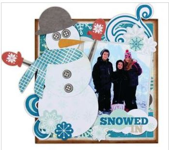 Project: Snowman Photo Tile