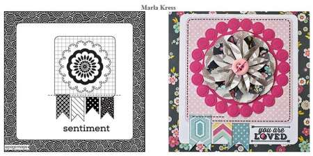 Freebie and Ideas: Card Sketches