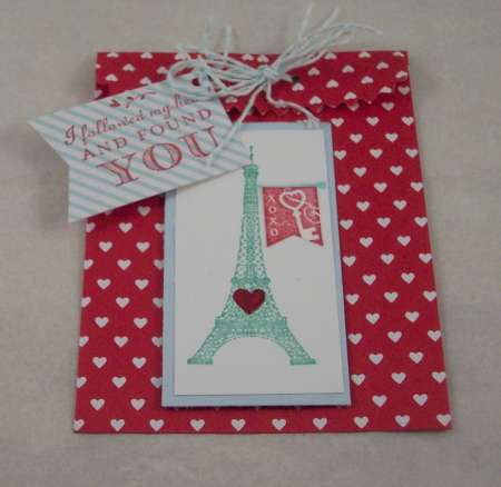 Review and Giveaway: Stampin' Up Valentine's