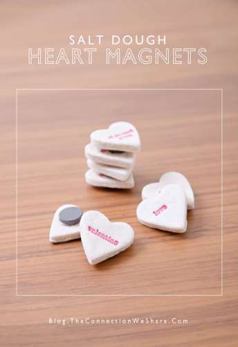 Project: Stamped Valentine's Day Magnets