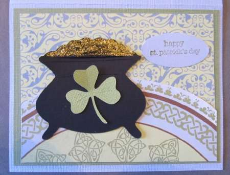Project: St. Patrick's Day Card