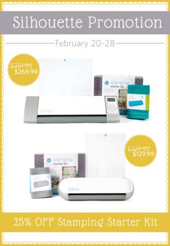 sale: silhouette stamping kit