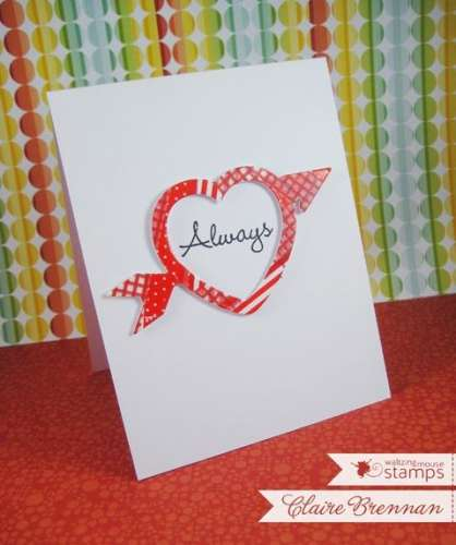 Project: Washi Tape Valentine Card