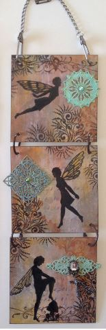 Project: Stamped Fairy Wall Hanging