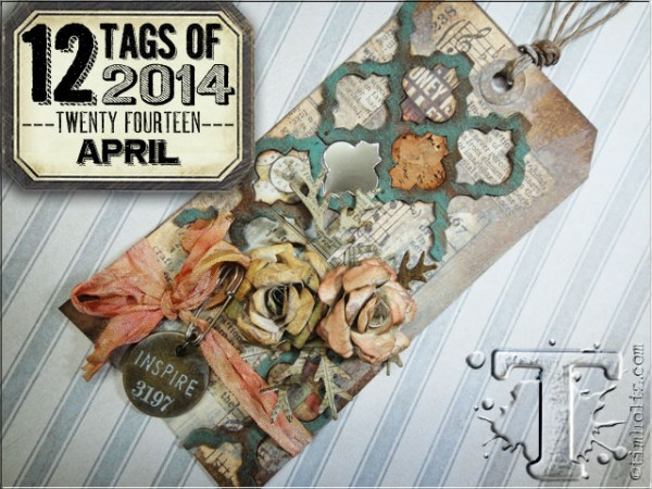 Project: Mixed Media Tag