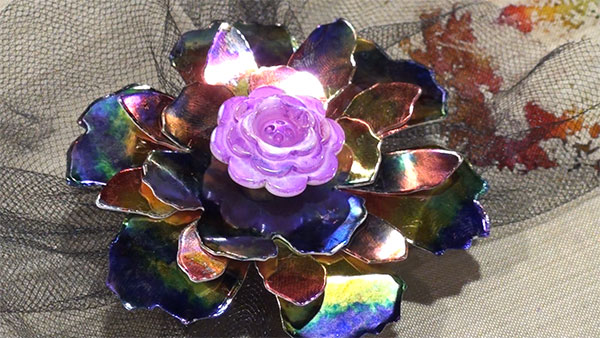 Project: Metal Foil Flower