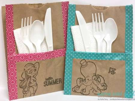 Project: Silverware Pocket for a Picnic