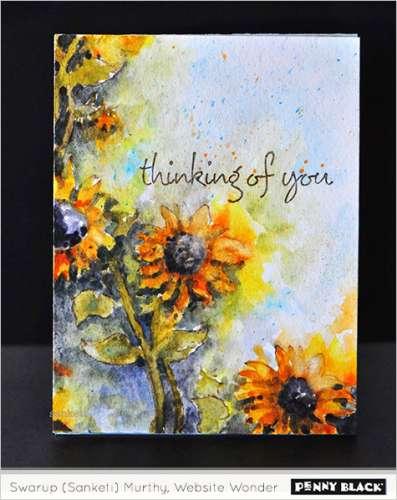 Tips: Watercolor Card