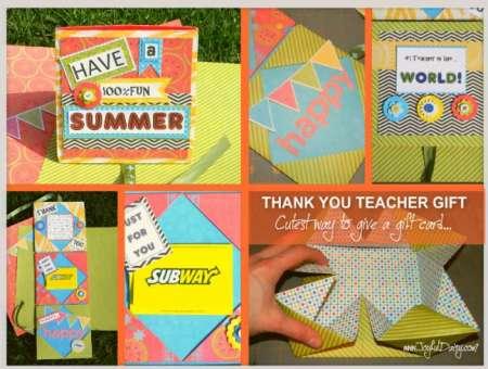 Project: Gift Card Holder for Teacher