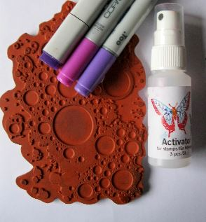 Tip: Rubber Stamping with Copic Markers