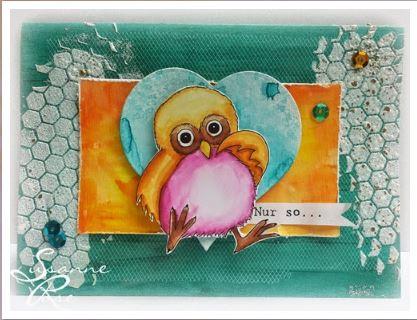 Freebie: Digital Owl Stamp