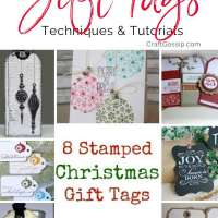 8 Stamped Christmas Gift Tags You Can Hand Make