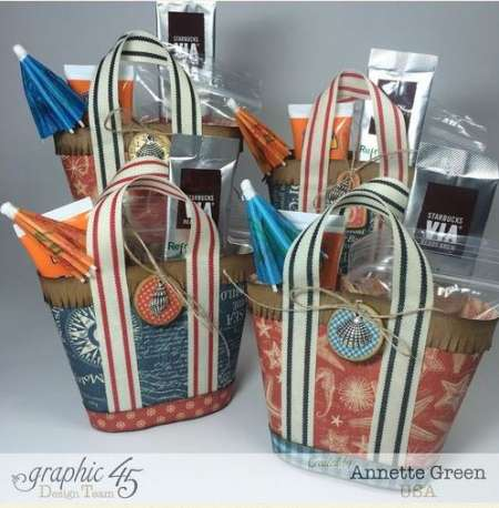 Project: Mini Beach Themed Treat Bags