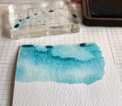 Tip: Stamping with Acrylic Blocks
