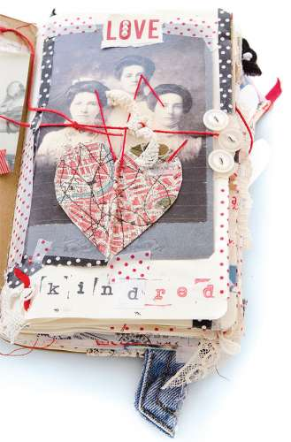 Project: Mixed Media Book of Cards