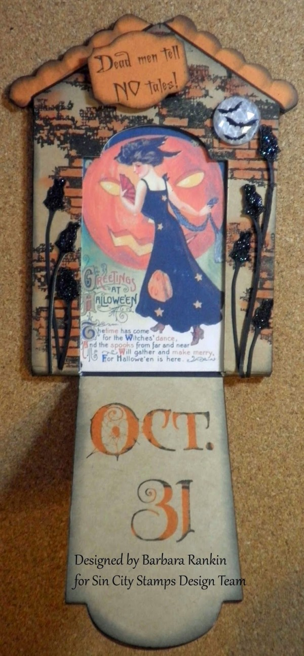 Project: Halloween Gift Card Holder