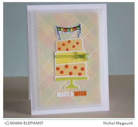 Project: Birthday Cake Card
