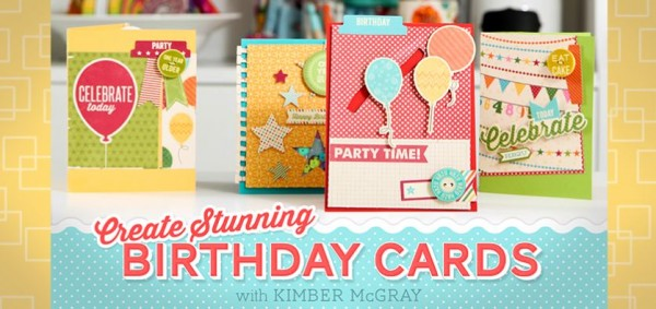 Free Class: Birthday Cards