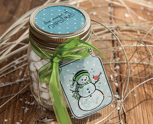 Project: Decorated Mason Jar Gift