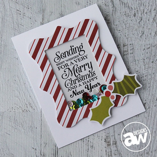 Project: Holiday Shaker Card