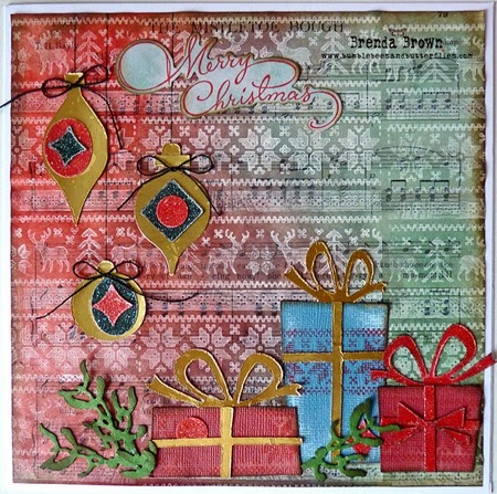 Project: Vintage Inspired Christmas Card