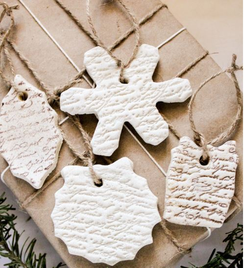 Project: Stamped Ornaments