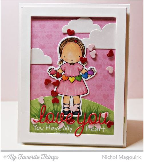 Project: Valentine Shaker Card