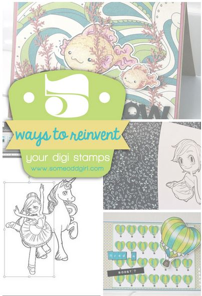 Tips: Getting More from Digital Stamps