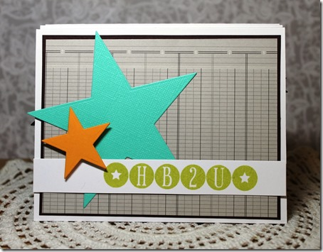 Project: Birthday Po-Up Card