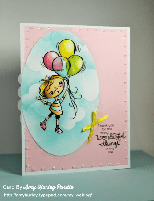Project: Balloon Card with Blending and Masking Techniques